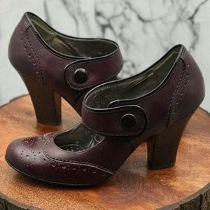 Sofft Fiona' Mary Jane Pump Chianti